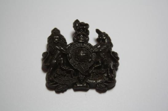 General Service Corps WW2 Economy Plastic Cap Badge