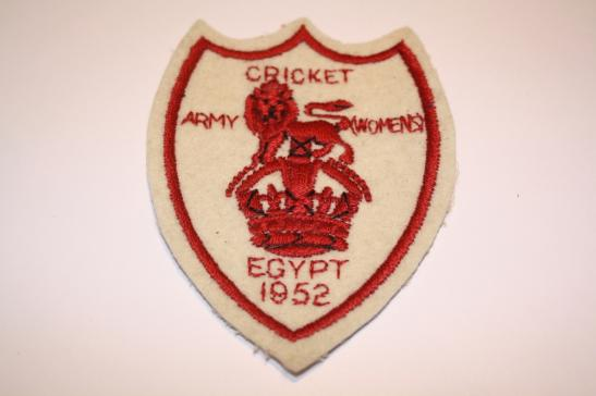 Army Cricket (Womens) Egypt 1952
