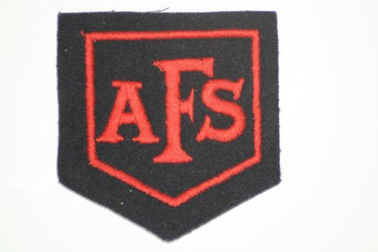 Auxiliary Fire Service Patch Original
