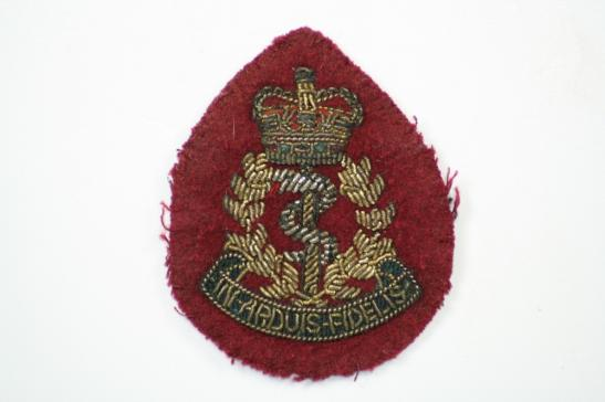 Royal Army Medical Corps Airborne Officers Cap Badge