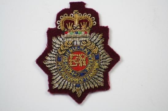 Royal Corps Transport Airborne Officers Cap Badge